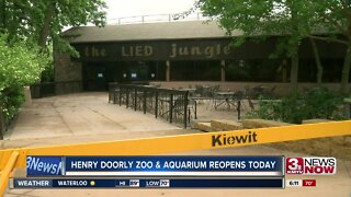 Henry Doorly Zoo and Aquarium reopens today