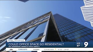 Could office space become living space?