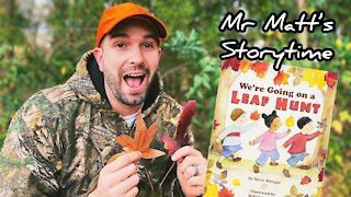 We're Going on a Leaf Hunt read aloud for kids