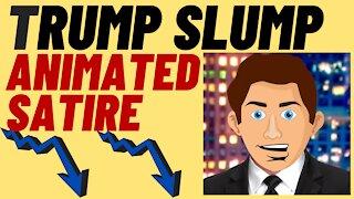 ANIMATED SATIRE - Trump Slump Hurts Cable News