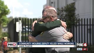 Community mourns death of Deputy William Gentry