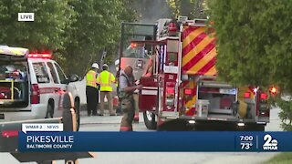 One person in critical condition following gas explosion in Pikesville