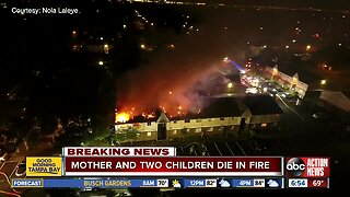 Mother, 2 children killed in 2-alarm apartment fire