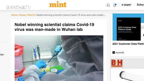 SMOKING GUN VIDEO Fauci Project Manager Confesses to Creating Covid-19