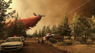 Thousands Of Firefighters Battle More Than 60 Blazes In Western U.S.