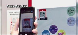 Coca-Cola unveils touch-free tech