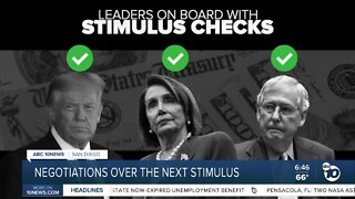 Negotiations over the next stimulus package