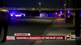 One dead, one child seriously hurt after south Phoenix hit-and-run