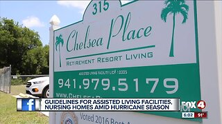 Guidelines for assisted living facilities amid hurricane season