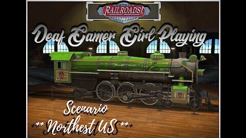 Sid Meier's Railroads! - Northest US scenario
