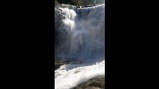 Family Adventures - Cascade Dam Falls
