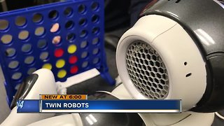 Twin brothers help kids with autism learn through robots