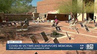 COVID-19 victims and survivors memorial
