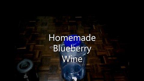 Homemade Blueberry Wine—Huge Money Saver