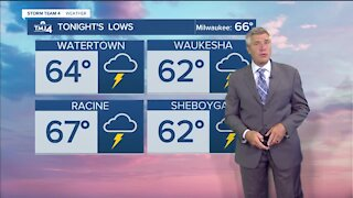 Cold front moves in Friday evening