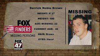 FOX Finders Missing Persons: Derrick Noble Brown