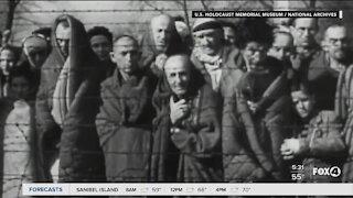 Holocaust survivor talks about riots at the White House