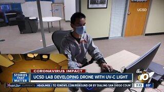 UCSD lab developing drone with UV-C lights
