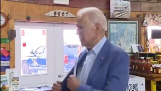 Confused Biden Pulls Out Notes To Answer Questions