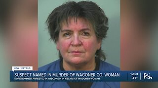Suspect named in murder of Wagoner Co. woman