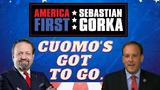 Cuomo's got to go. Rep. Lee Zeldin with Sebastian Gorka on AMERICA First