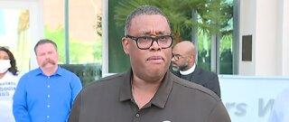 Las Vegas officials speak about George Floyd protests