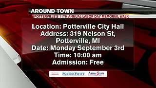 Around Town 8/30/18: Potterville's Labor Day Memorial Walk