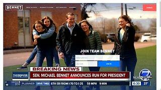 Colorado Sen. Bennet launches Democratic presidential bid