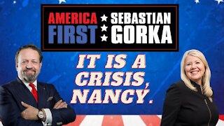 It is a crisis, Nancy. Rep. Debbie Lesko with Sebastian Gorka on AMERICA First