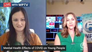 Mental health effects of COVID-19 on children