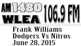 Wlea Archives, Frank Williams, Dodgers vs Rapids, June 2015