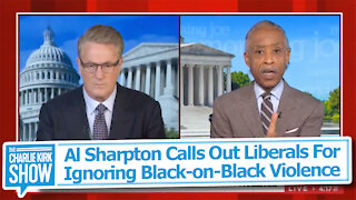 Al Sharpton Calls Out Liberals For Ignoring Black-on-Black Violence