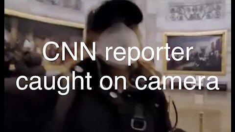 CNN Reporter was in on it