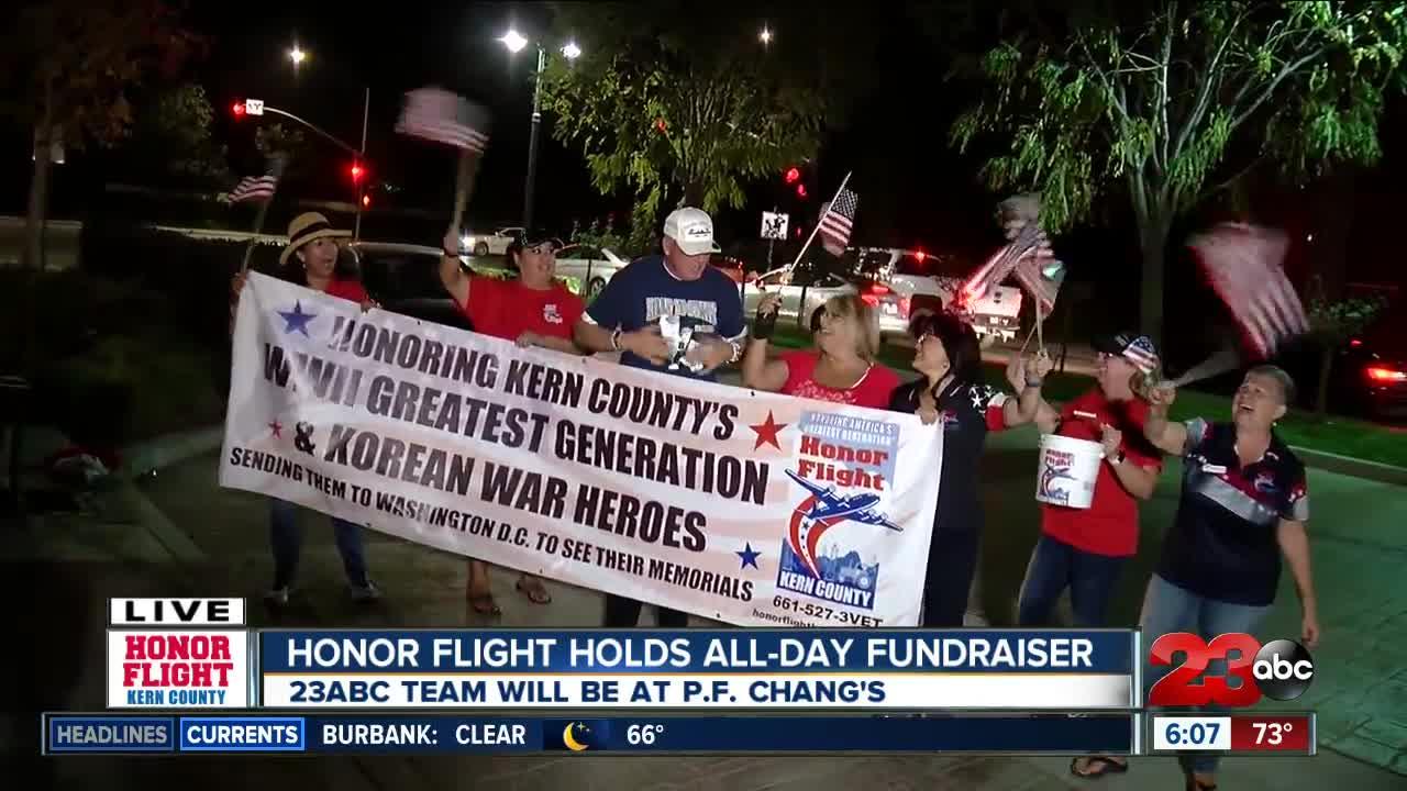 Honor Flight Kern County fundraiser forecast