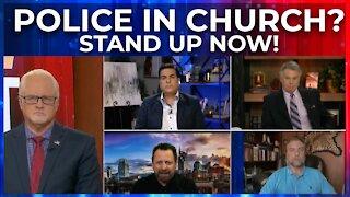 FlashPoint: Police in Church? STAND UP! Pas. Pawlowski, Lance Wallnau, Hank Kunneman, Mario Murillo