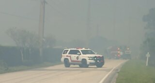 Danger remains after fire closes Turnpike in Martin County