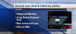 Armed man shot and killed by police