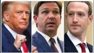 Trump to SUE BIG TECH CENSORSHIP: from Florida (2021)