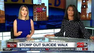 The 5th annual Stomp Out Suicide Walk brings awareness to suicide prevention