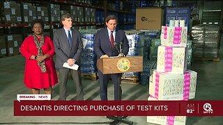 Gov. Ron DeSantis directs the purchase of 2,500 coronavirus testing kits