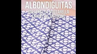 Albondiguitas Stuffed with Mozzarella Wrapped in Bacon