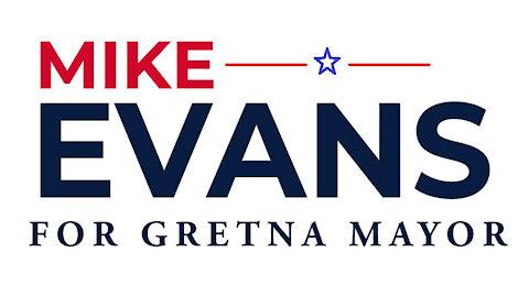 Next Chapter - Mike Evans for Mayor of Gretna