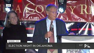 Senator Jim Inhofe Speaks at GOP Watch Party