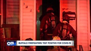 Buffalo firefighters test positive for covid-19