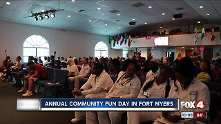 Annual community day in Fort Myers