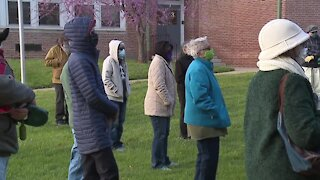 Black Lives Matter prayer service held Thursday night in Baltimore