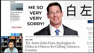 John Cena Apologizes IN CHINESE For *Correctly* Acknowledging Taiwan As An Independent Nation