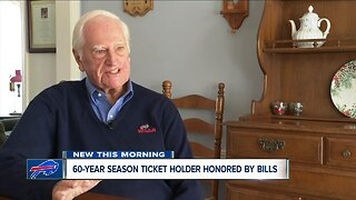 This Bills season ticket holder has seen 60 seasons of the good, the bad, and ugly football