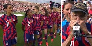 US Women's Soccer Team Disses WWII Veteran
