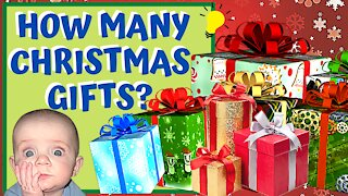 HOW MANY GIFTS to Get KIDS for CHRISTMAS?